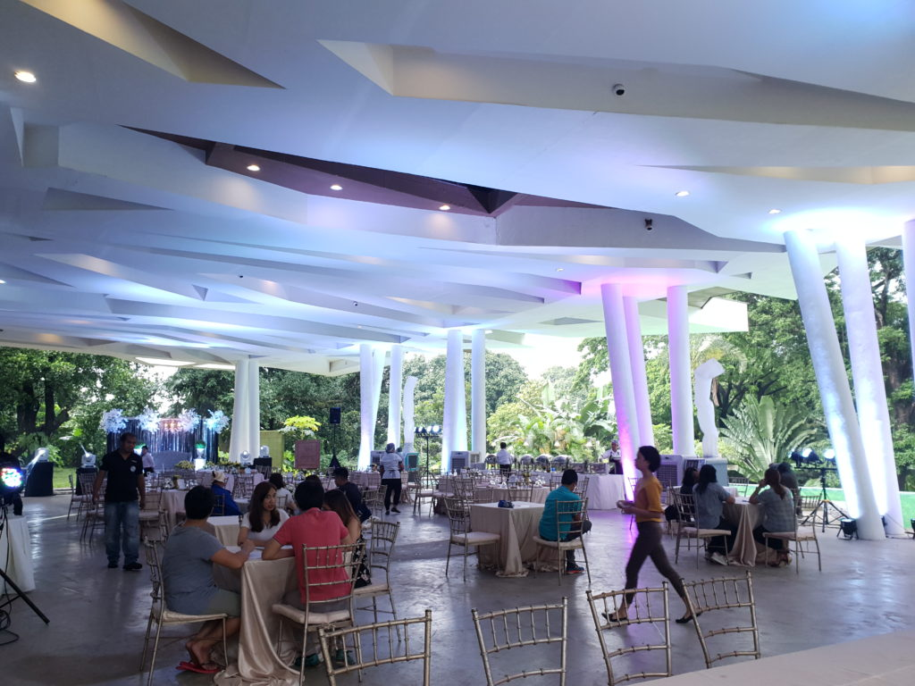 Isla Palma Hizon's catering food tasting event